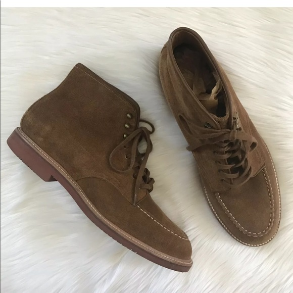 68fb536540a J Crew Kenton Pacer Boot Suede Leather Lace Up